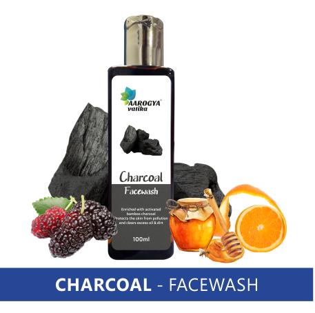CHARCOAL FACEWASH (100 ML.)