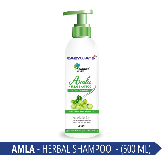 AMLA HERBAL SHAMPOO 500 ML.