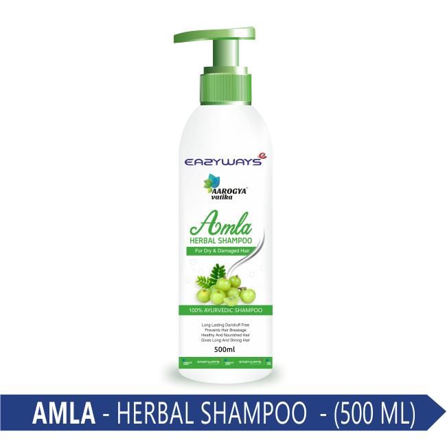 AMLA HERBAL SHAMPOO 500 ML.