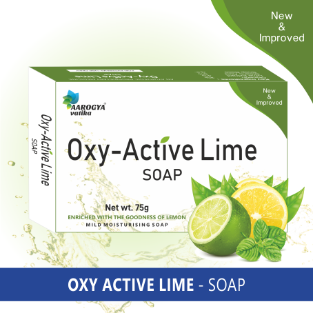 OXY ACTIVE LIME SOAP (75 GM)