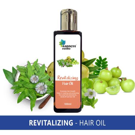 REVITALIZING HAIR OIL (100 ML)