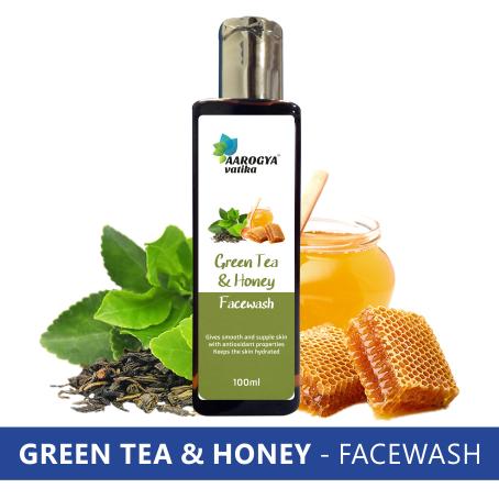 GREEN TEA & HONEY FACEWASH (100 ML.)