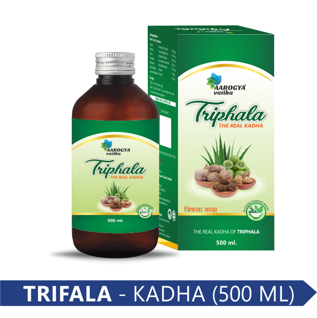 TRIPHALA KADHA 500 ML (GST)