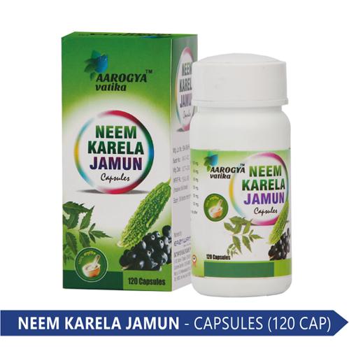 NEEM & KARELA JAMUN (120 CAP.)
