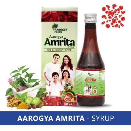 AAROGYA AMRITA BLOOD PURIFIER SYRUP (300 ML.)
