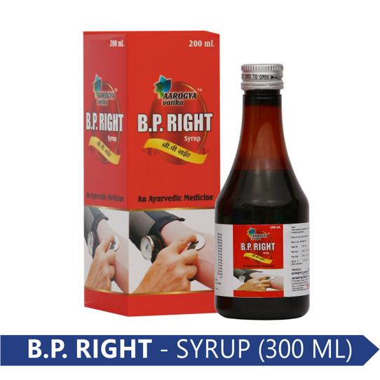 B.P. RIGHT 300 ML.