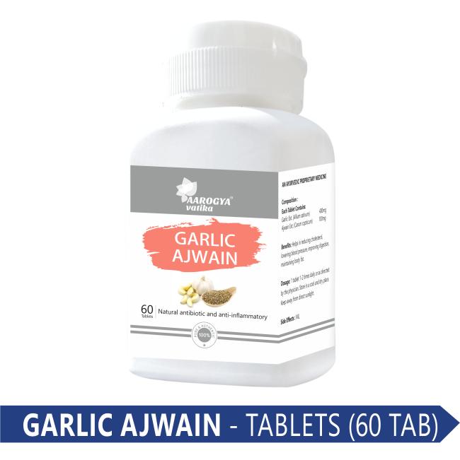 GARLIC AJWAIN TABLET (60 PCS)