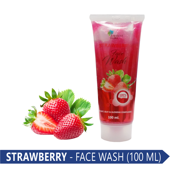 FACE WASH (STRAWBERRY) 100 ML.