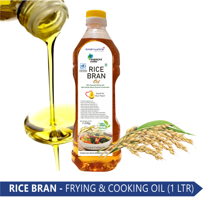 RICE BRAN OIL (1 LT.)