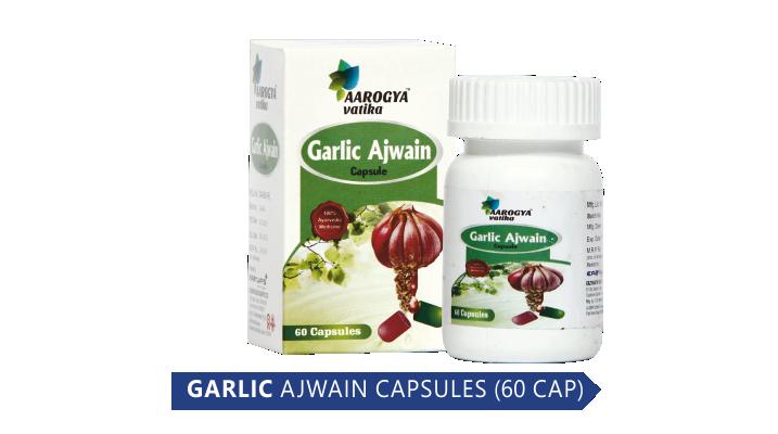 GARLIC AJWAIN (60 CAP)