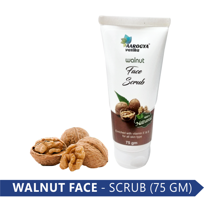 WALNUT FACE SCRUB (75 GM)