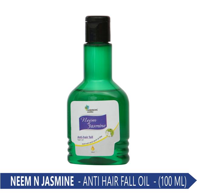 NEEM & JASMINE ANTI FALL HAIR OIL (100 ML.)