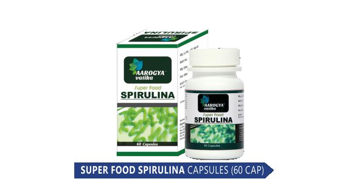 SUPER FOOD SPIRULINA CAP (60 CAP)