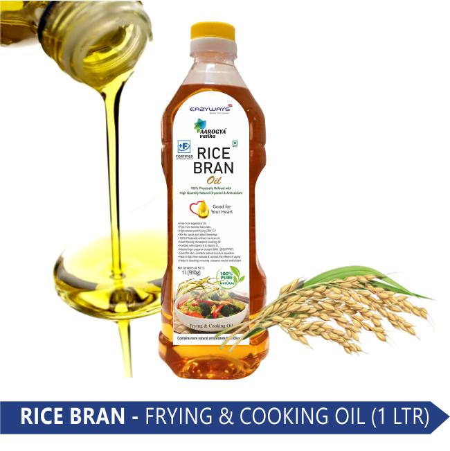 RICE BRAN OIL (1 LT.)