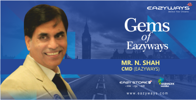 GEMS OF EAZYWAYS,RANCHI;WELCOME of Mr.N.Shah