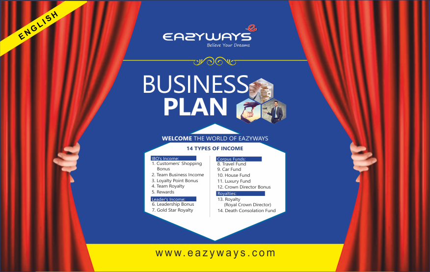 EAZYWAYS BUSINESS PLAN  ENGLISH ver
