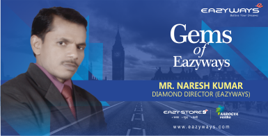 Gems of Eazyways :Income testimonial by Diamond director Mr.Naresh Ji