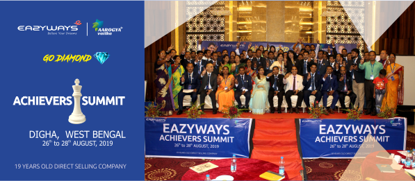 EAZYWAYS ACHIEVERS SUMMIT ,DIGHA :AUGUST 2019