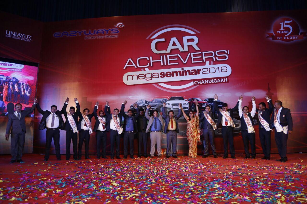 Car Achievers Seminar -2106 (Chandigarh).